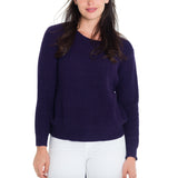 Woven Heart Talia Tie Back Sweater