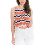 Woven Heart Chevy Top