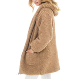 Woven Heart Light Camel Jacket