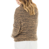 Woven Heart Marled Sweater