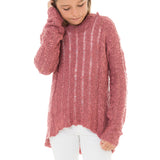 Girls Slub Pullover Sweater