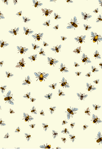 Bees - End of Bolt - 54cm x 112cm