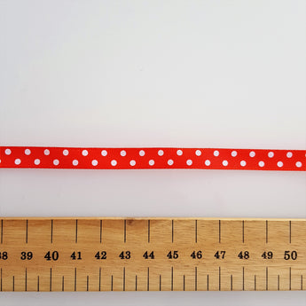 Red Polka Dot Ribbon