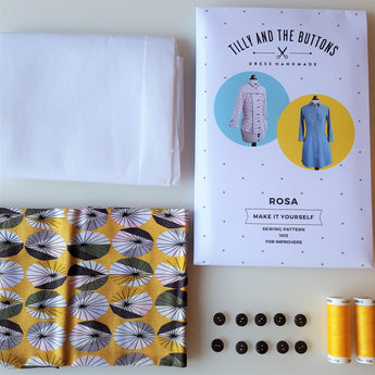 Tilly and the Buttons Rosa Shirt Dress Kit