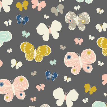 September Blue - Butterfly - 145cmx112cm