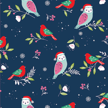 Winter Wonderland - Owls and Doves