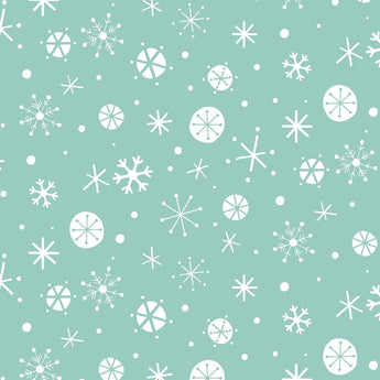 Christmas Wish-Blue Snowflake - 36cm x 112cm