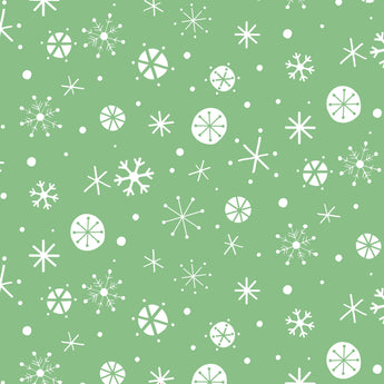 Christmas Wish-Green Snowflake