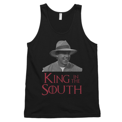 Nick Saban: King In The South Unisex Tank Top