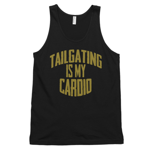 Tailgating Is My Cardio Unisex Tank Top