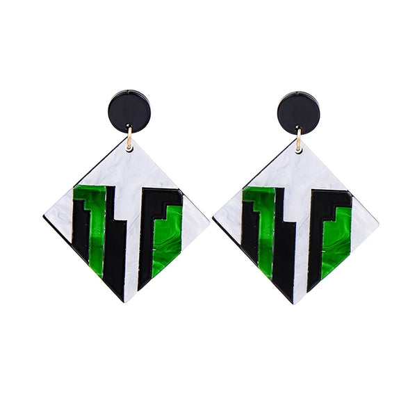 """Squared Up"" Earrings"