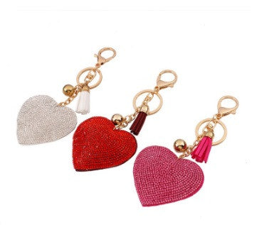 """Heart to Heart"" Key Chain or Purse Tags"