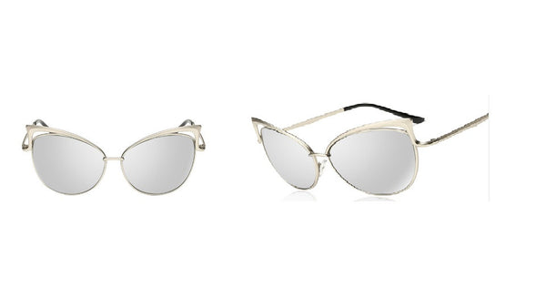 Cat Eye Tips Sunglasses