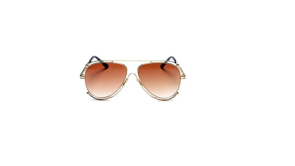 Unisex Double Rim Sunglasses
