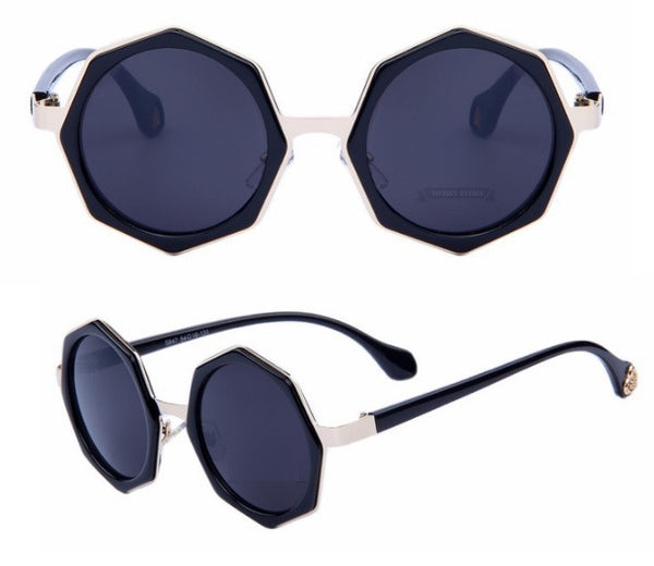 Octagon Shaped Sunglasses