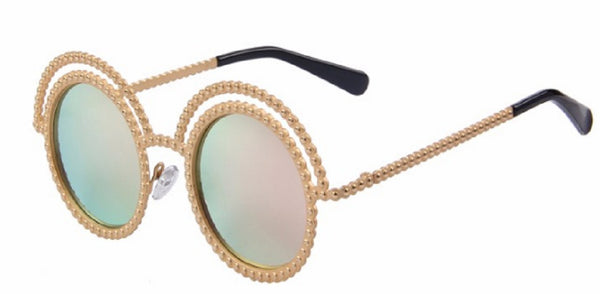 Vintage Beaded Sunglasses