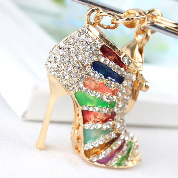 High Heel Shoe Pendant Purse Tag  or Key Chain