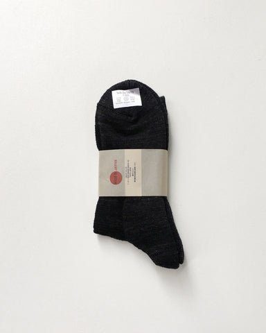 Anonymousism 3/4 Crew Socks Charcoal