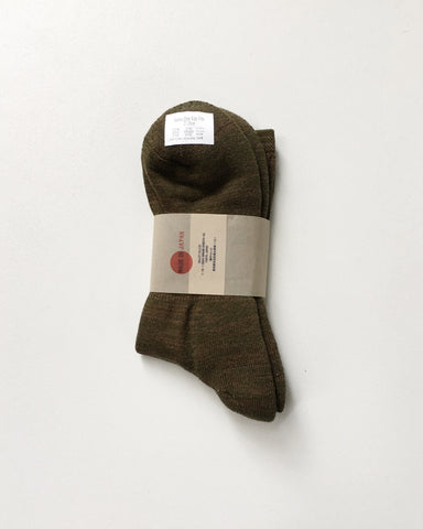 Anonymousism 3/4 Crew Socks Moss