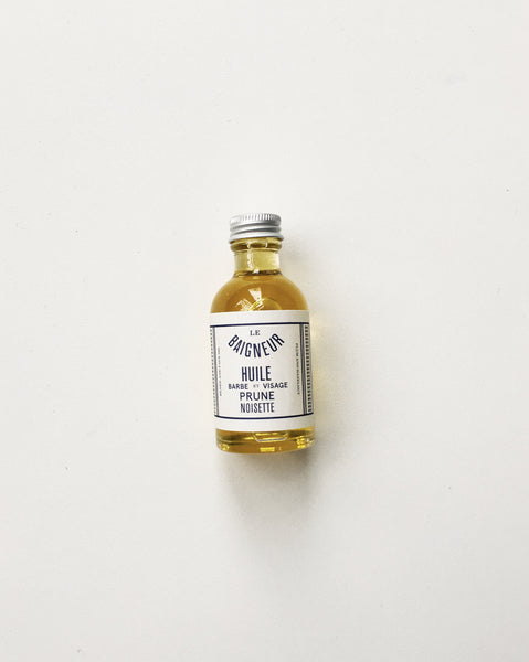 Le Baigneur French Beard and Face Oil 50ml / Orn Hansen