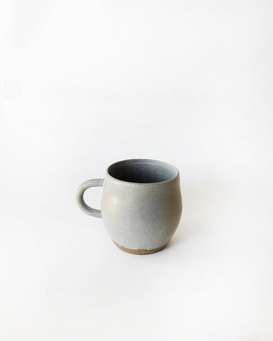 Beanpole Pottery Coffee Mug Matte Grey