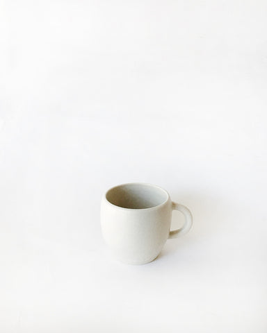Beanpole Pottery Coffee Mug Matte White