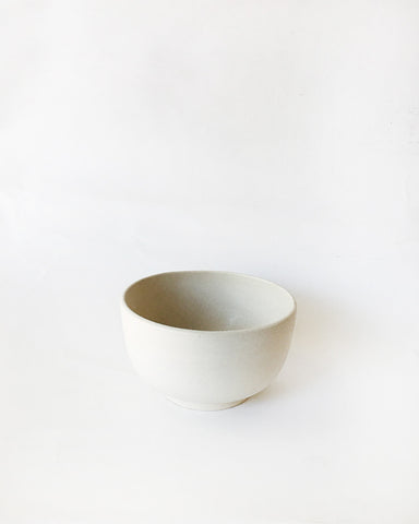 Beanpole Pottery Large Bowl Matte White