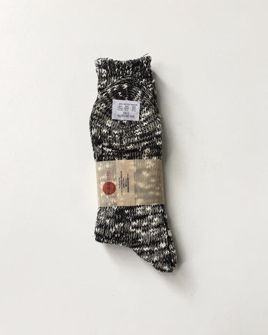 Anonymous Ism Slub Crew Charcoal Socks