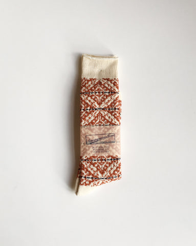 Anonymous Ism Fair Isle Socks Amber