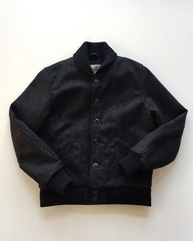 Dehen 1920 / Menswear / Club Jacket Dark Charcoal