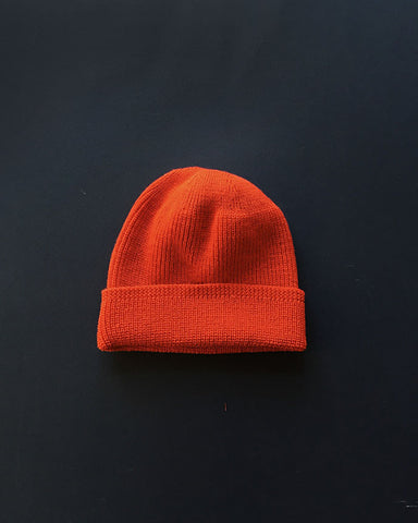 Dehen 1920 - Knit Watch Cap - Blood Orange