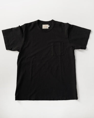 Dehen 1920 / Menswear / Single Pocket Heavy Duty Tee Black