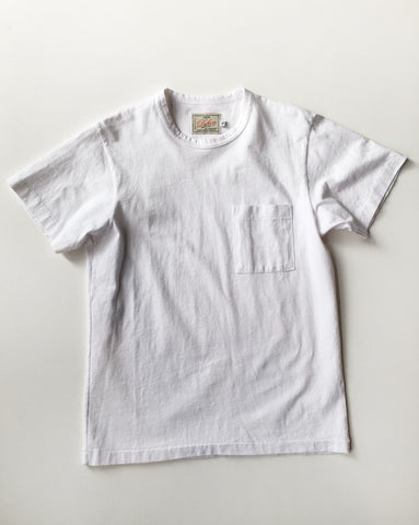 Dehen Single Pocket Heavy Duty Tee White