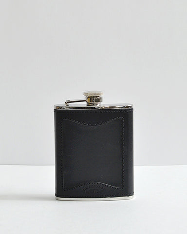 Filson Leather and Steel Flask