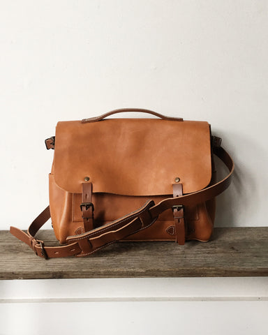 Bleu de Chauffe Postman Bag / French Made Bags / Orn Hansen