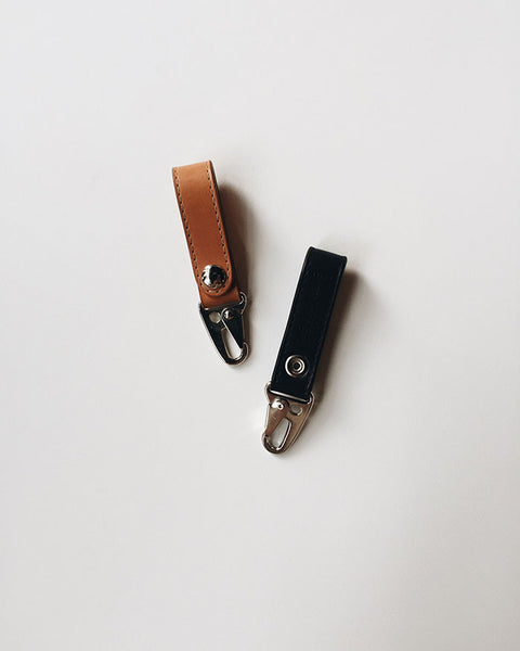 One Man Made Leather Key Clip