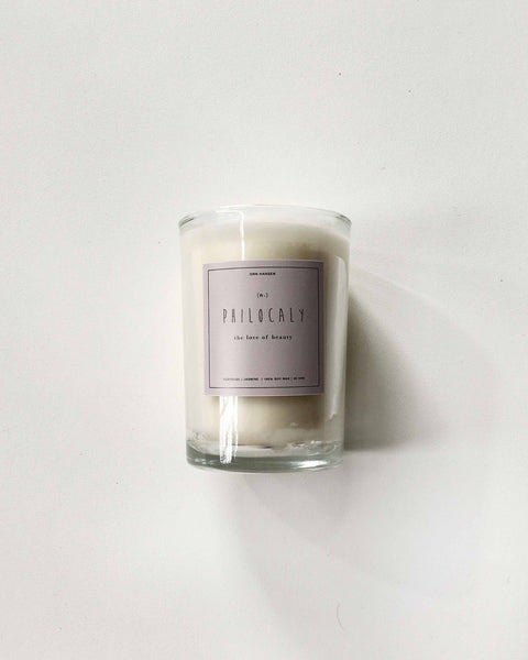 Orn Hansen Scented Soy Wax Candle Philocaly