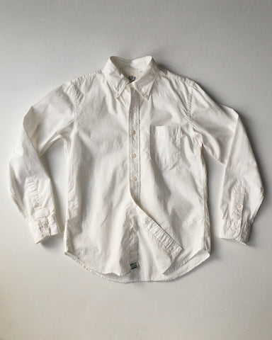 Orslow White Chambray Button Shirt