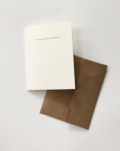 Sapling Press Card Tiny Donuts