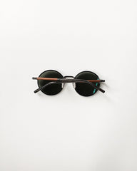 Shwood Hawthorne Black Chrome Sunglasses