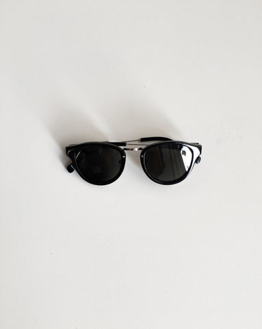 Shwood Ainsworth Sunglasses Black and Grey Polarized