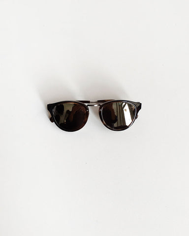 Shwood Ainsworth Sunglasses Bourbon and Gold / Orn Hansen