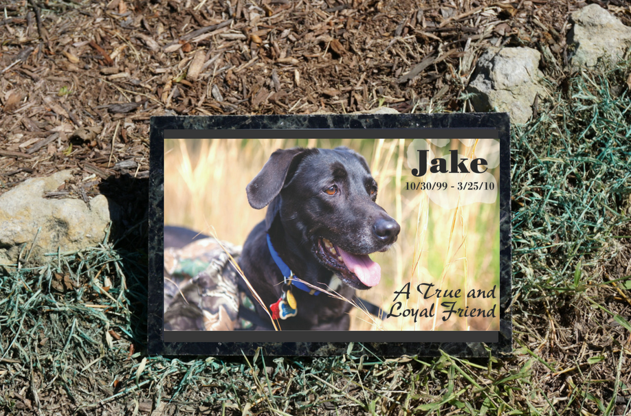 Personalized Granite Memorial Marker