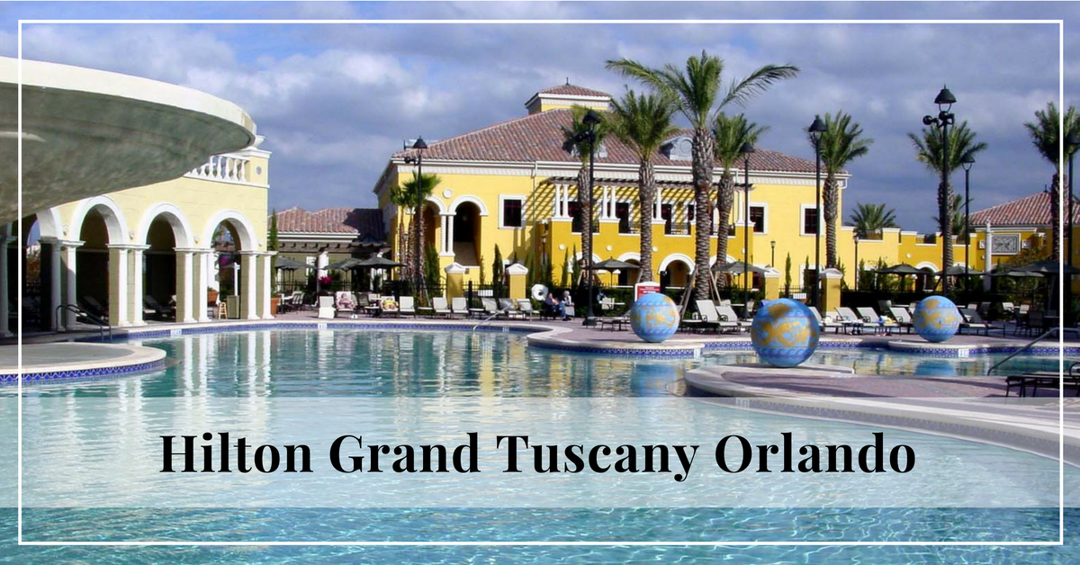 Hilton Grand Vacations Tuscany Village Vacations