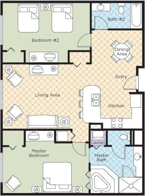 Vacation strategy wyndham grand desert resort vacation for Wyndham grand desert room floor plans