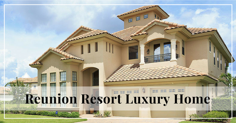6BR Reunion Resort Luxury Golf View Home