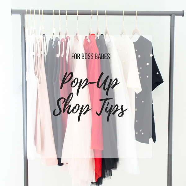 Pop-Up Shop Tips