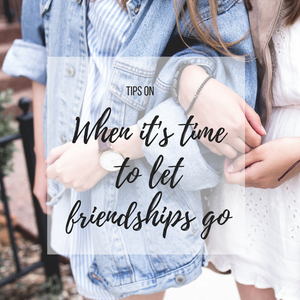 When it's time to let friendships go