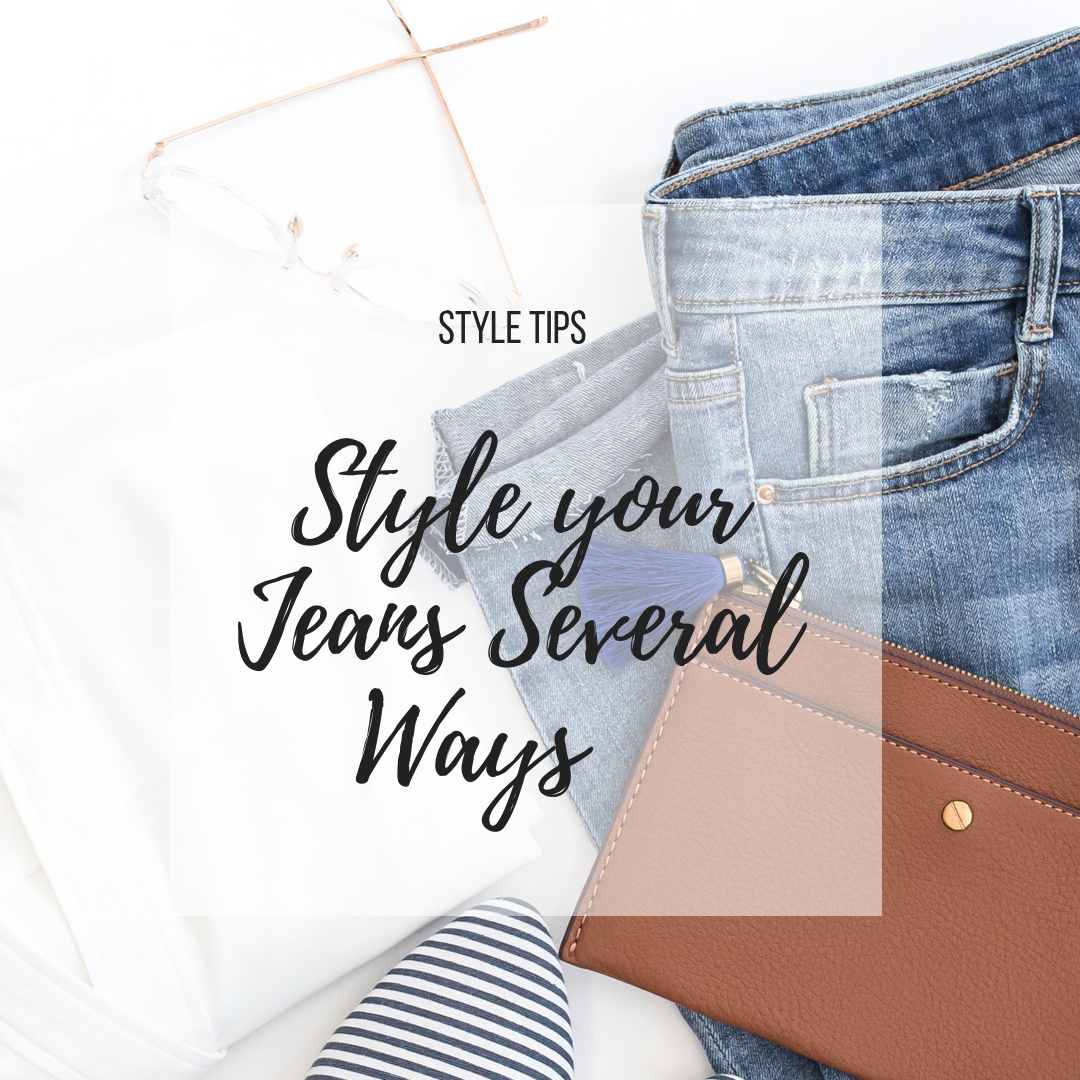 Style You Jeans Several Ways