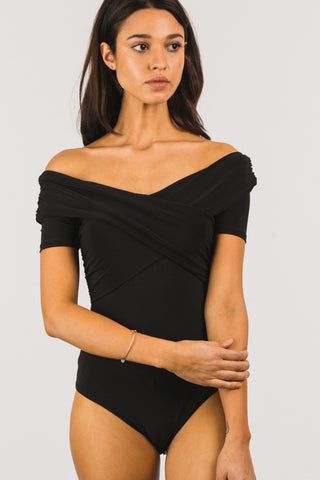 Carbon Copy Body Suit - Downtown Chic Online